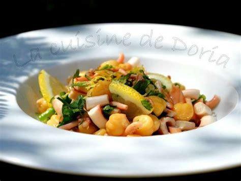 cuisine de doria recettes de salade de poulpe de la cuisine de doria