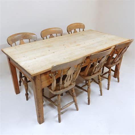 vintage farmhouse kitchen table  la