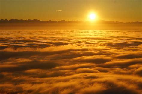image libre lever du soleil nuage soleil aube