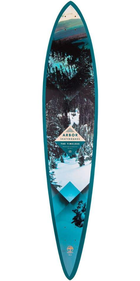 Arbor Longboard Decks Only by Arbor Timeless Walnut Longboard Deck 2015
