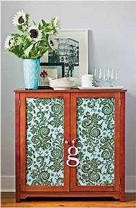 Fabric Covered Cabinet Doors