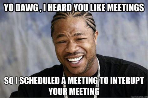Webinar Meme - 5 ways webinars and video can replace workplace meetings