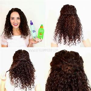 Easy Natural Curly Hairstyles Hairstyles Ideas