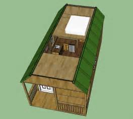 12x12 Shed Plans With Loft by Sweatsville 12 X 24 Lofted Barn Cabin In Sketchup