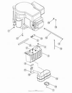 Mtd 13an601h729  2006  Parts Diagram For Engine Accessories