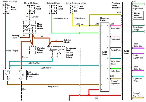 Audio Wiring Diagram Mustang Ford Forum