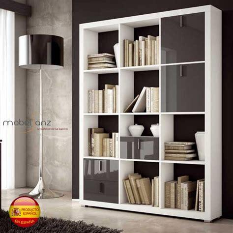 libreria estanteria separadora moderna