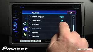 How To - Avh-x1500dvd - System Settings