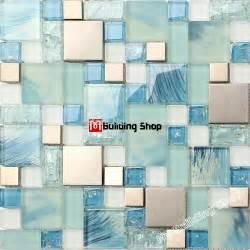 blue glass tile kitchen backsplash blue glass mosaic kitchen wall tile ssmt306 stainless steel metal tile backsplash glass wall