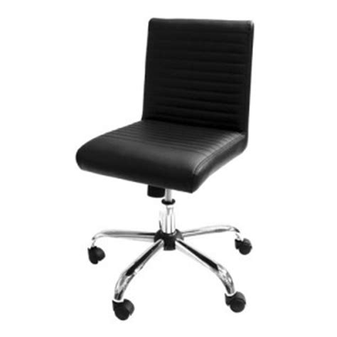 office task chairs without arms armless seating