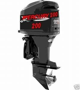 2 Xlg Mercury Outboard Boat Motor Decal Sticker Decals