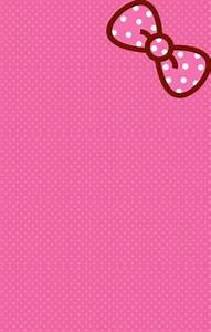 Pink hello kitty wallpaper! #art #hellokitty #wallpaper ...