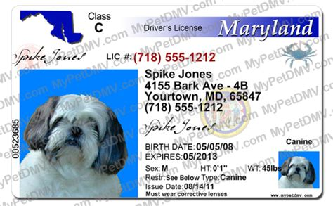 Maryland has broad patient requirements and all you need is to meet with a doctor online and submit the proper forms to mmcc. Maryland Pet ID License