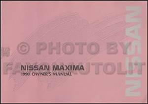 1993 Nissan Maxima Wiring Diagram Manual Original