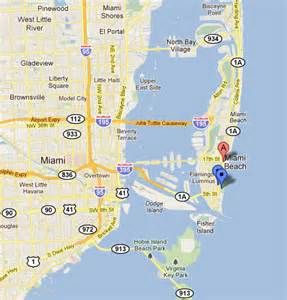 Google Map Miami Florida