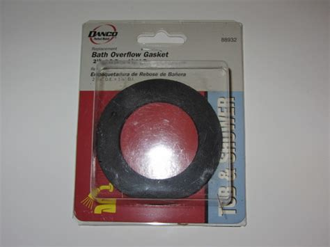 bathtub overflow gasket leak bath overflow gasket bathtub drains