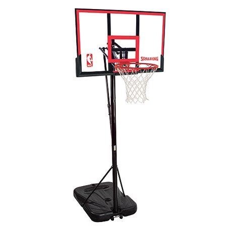 spalding  residential portable basketball system