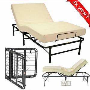 Twin Xl Size Head Foot Adjustable Bed Frame