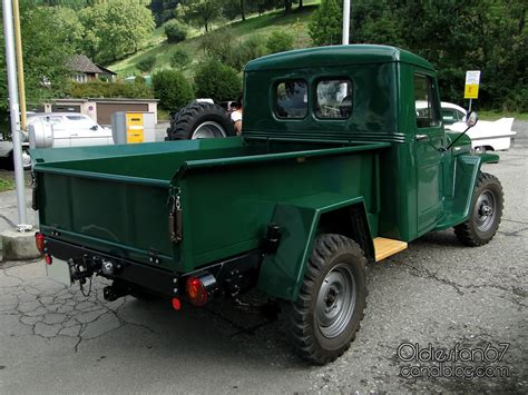 1962 willys jeep pickup willys overland jeep truck pickup 1953 1962 oldiesfan67