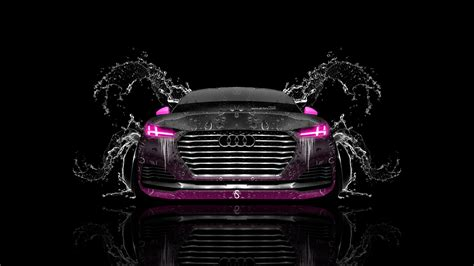 Free Cars Wallpapers Downloads Pink by Audi Tt Offroad Front Water Car 2014 Pink Neon Hd