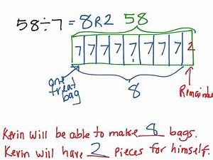 Dividing With Remainders Using A Tape Diagram  Lesson 14