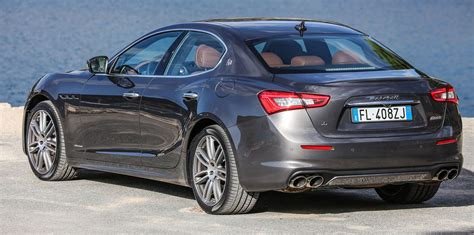 Price For A Maserati by 2018 Maserati Ghibli Pricing And Specifications Photos
