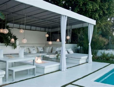 cuisine ouverte sur salle à manger et salon la décoration terrasse extérieur des idées pour