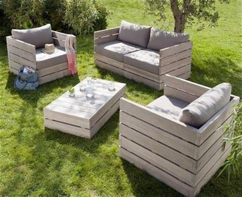 amazing diy pallet outdoor furniture ideas pallets