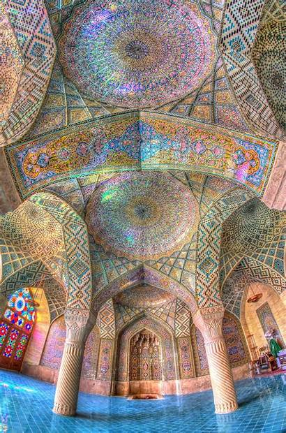 Architecture Islamic Mosque Islam Ancient Iranian Patterns