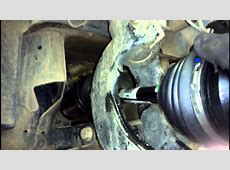 BMW CV Shaft X5 E70 Removal & Replacement How to DIY