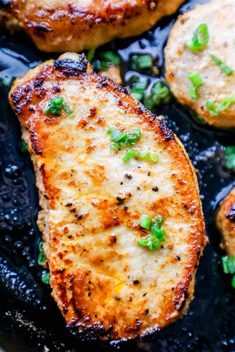 A simple brine imparts flavor, but mostly keeps the pork chops from drying out; Best Recipes For Thin Cut Pork Chops - Image Of Food Recipe
