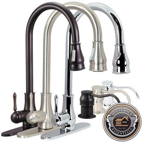 Kitchen Sink Faucet by Kitchen Swivel Spout Single Handle Sink Faucet Pull Out