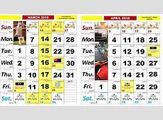 Kalendar Kuda 2016 Cuti Umum IDEA BERITA