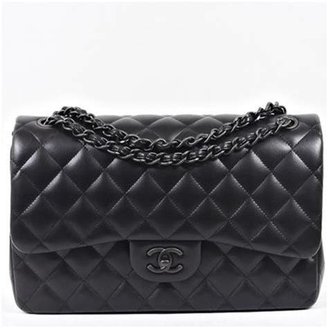 chanel  black bag collection reference guide spotted fashion
