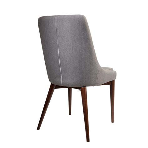 chaises tissu chaises en tissu juju x2 par drawer