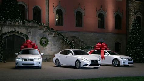 lexus christmas lexus december to remember tv commercial 39 bow precision