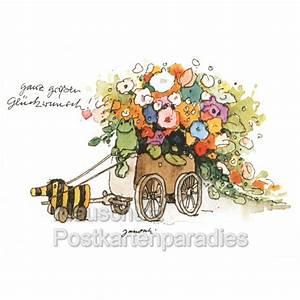 Blumen In Der Box : ganz gro en gl ckwunsch janosch postkarte mit tigerente ~ Orissabook.com Haus und Dekorationen