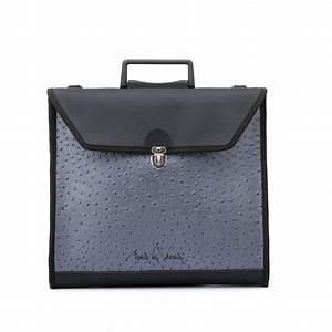 maria la verda 0050 metal locking document bag With lockable document bag
