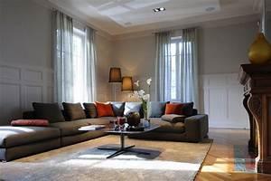 Decoration Mur Interieur Salon : salon decoration interieur design en image ~ Teatrodelosmanantiales.com Idées de Décoration