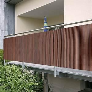 gardol comfort sichtschutz braun 300 x 90 cm bauhaus With markise balkon mit tapeten sale