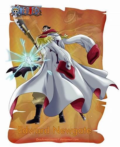 Piece Edward Newgate Orochimarusama1 Deviantart Zoro Anime
