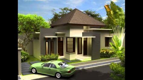 desain rumah minimalis pintu samping yg  trend