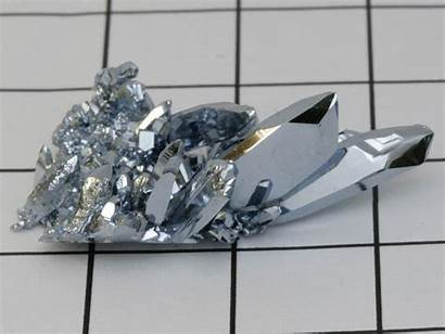 Osmium Osmio Crystal Elemento Metal Ru Rare