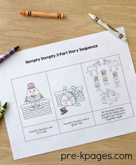 Humpty Dumpty Crafts Preschoolers