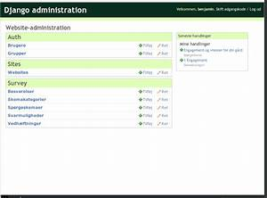 17231 use djangoprojectcom color theme in django admin With django template comment