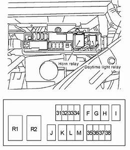 Nissan Note  2004 - 2013  - Fuse Box Diagram