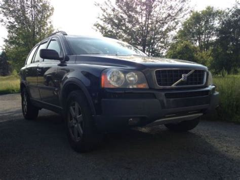 2004 Volvo Xc90 Problems by Sell Used 2004 Volvo Xc90 Awd 2 5t Black On Black In