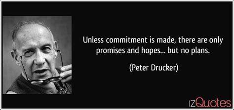 commitment      promises