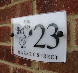 17 best images about home on pinterest ceramics wood With glass house numbers and letters