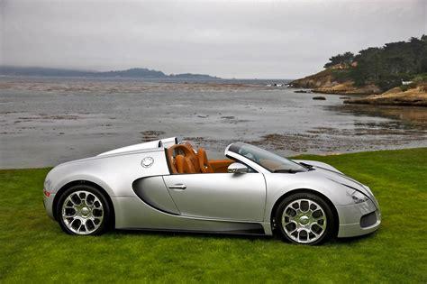 2009 Bugatti 16.4 Veyron Grand Sport Desktop Wallpaper And